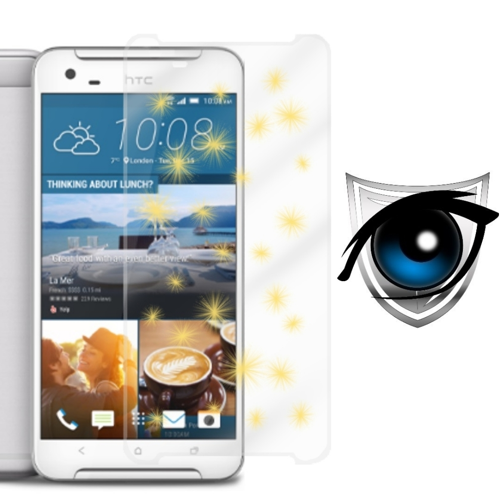 D&A HTC One X9 (5.5吋)日本9H藍光超潑水增豔螢幕貼