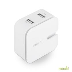 Moshi Rewind 2 高效能雙端口電源充電器
