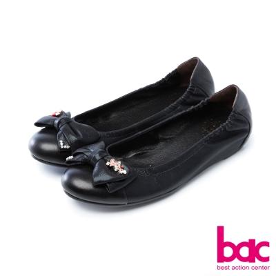 bac甜美履行柔美色調雙層蕾絲尖頭高跟鞋黑