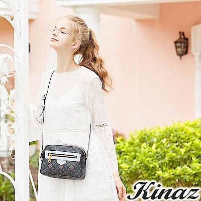 KINAZ 夢想秘境斜背包-經典深藍-莊園系列