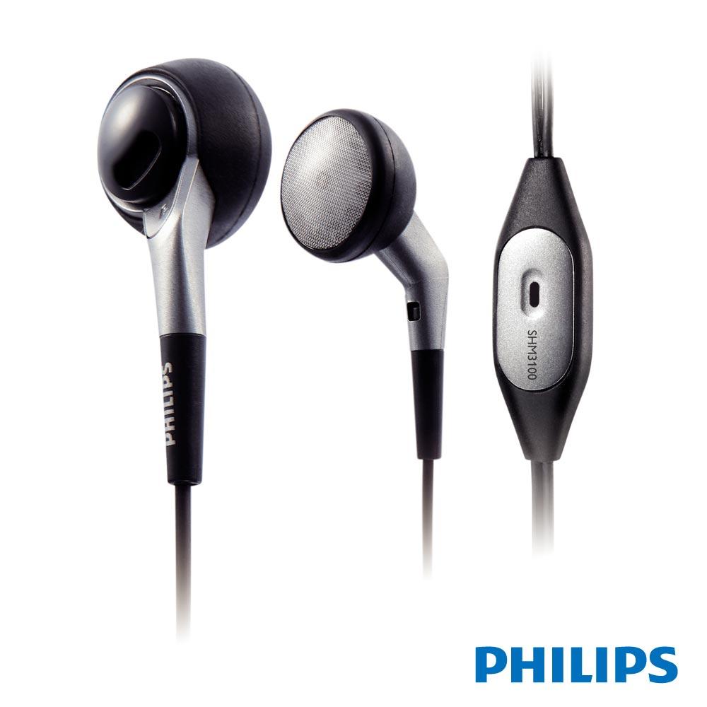 PHILIPS 耳塞式耳機麥克風 SHM3100U