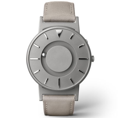 EONE美國設計品牌Bradley觸感腕錶-極簡灰40mm