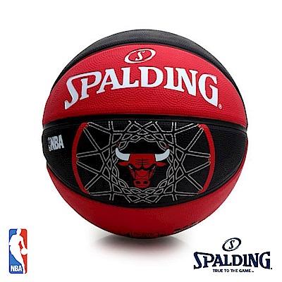 SPALDING 芝加哥 公牛 Bulls #7 隊徽籃球 SPA83503