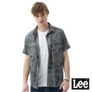 Lee  植物印花短袖襯衫/RG-男款-灰色