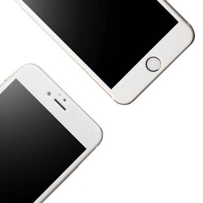 透明殼專家 iPhone7/8 Plus格纹3D曲面全螢幕 碳纖維鋼化膜