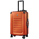VICTORINOX 瑞士維氏Spectra 2.0輕量級霧面26吋硬殼行李箱-火焰金