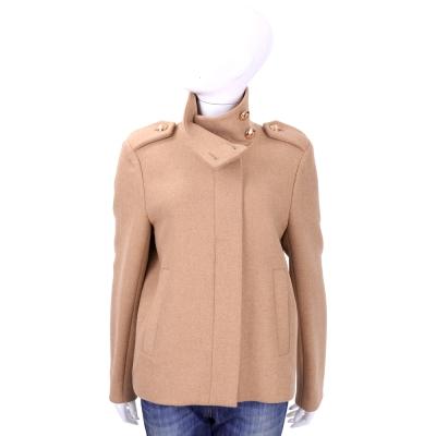 SEE BY CHLOE  深粉色羊毛立領軍裝外套