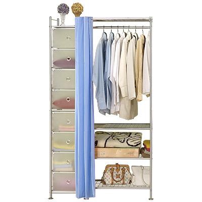 巴塞隆納─W4+D型60公分衣櫥置物架