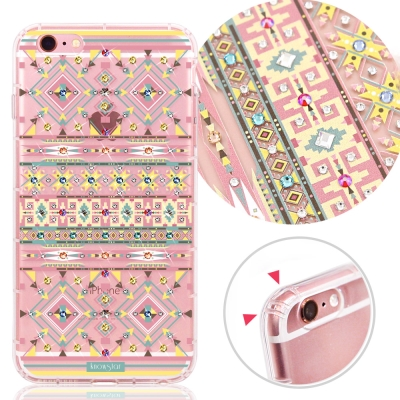 KnowStar APPLE iPhone 6s Plus 奧地利水晶彩繪防摔手...