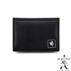 PORTER - 法式時尚BEND真皮名片夾 - 黑