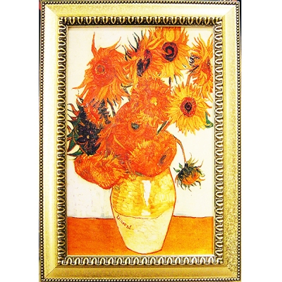 開運陶源《向日葵》梵谷名畫(43x60cm)