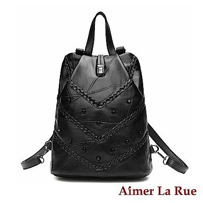 Aimer La Rue 後背包 羊皮防盜編織系列(二款)