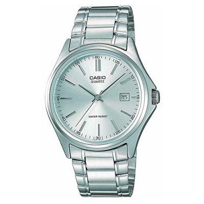 CASIO 羅馬時尚精緻紳士腕錶(MTP-1183A-7A)-銀白/38.5mm