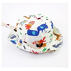 動物樂園春夏兒童盆帽