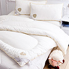 【Annabelle】特選-100%澳洲進口高級純羊毛被-2.4KG+羊毛枕一對