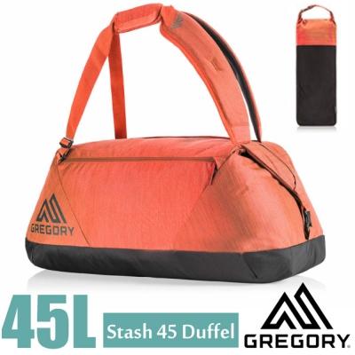 【GREGORY】Stash Duffel 45L 超輕多功能耐磨三用裝備袋.後背_秋日紅