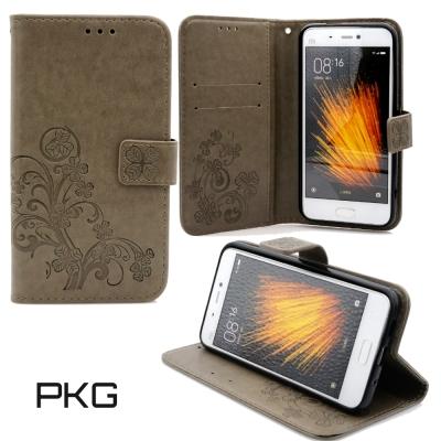 PKG  SAMSUNG C9 PRO 精緻皮套-側翻式磁扣