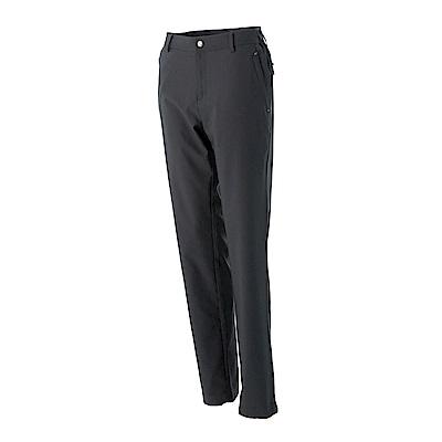 【Wildland 荒野】女日本紗彈性抗UV長褲-深卡其