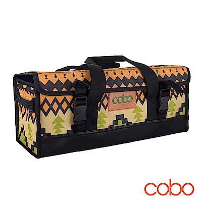 韓國COBO 印地安圖騰 戶外露營登山工具收納包 露營/登山/收納包/收納箱