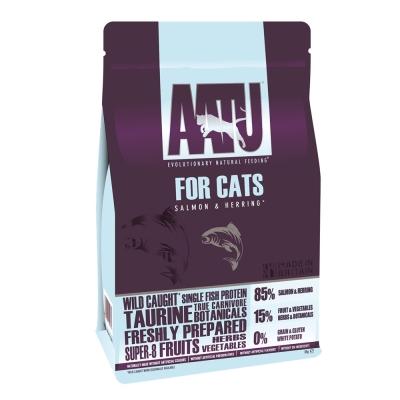 AATU 奧圖  皇室85%鮭魚+鯡魚 低敏無穀挑嘴全齡貓糧 3kg