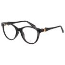 SWAROVSKI-貓眼水鑽 光學眼鏡(黑色)SW4075