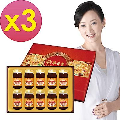 華齊堂 元氣雙蔘雞精禮盒(60mlx10瓶)3盒