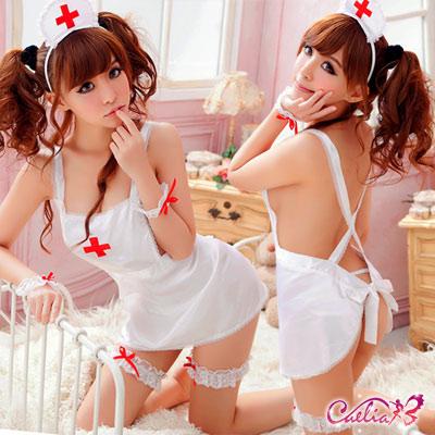 【Caelia】專屬俏護士!七件式甜心角色服