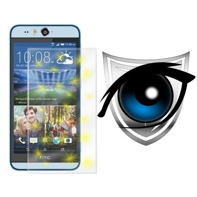 D&A HTC Desire Eye 日本9H濾藍光疏油疏水增豔螢幕貼