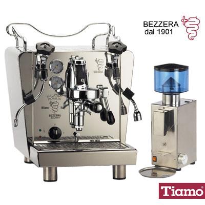 BEZZERA-GALATEA-DOMUS-雷廷玩家級咖啡機-BB005-AT-錐刀磨豆機