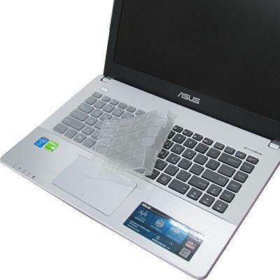 EZstick ASUS X 450  X 450 J 專用奈米銀抗菌TPU鍵盤保護膜