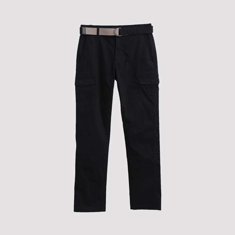 Hang Ten - 男裝 - 休閒口袋工作褲 - 黑