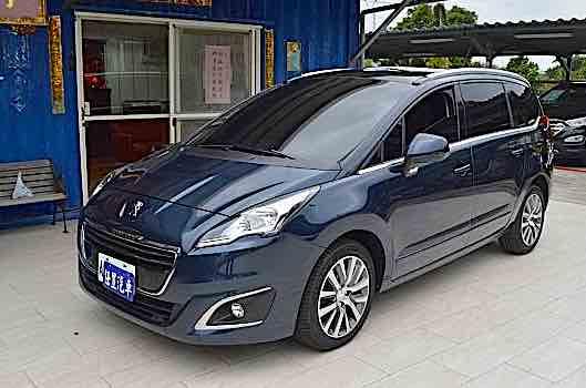 2014 Peugeot寶獅 5008 七人座柴油