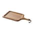 KEVNHAUN 天然木質兩用長型砧板-拖盤(握把式)