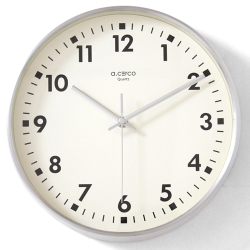 a.cerco 鋁框數字精典掛鐘