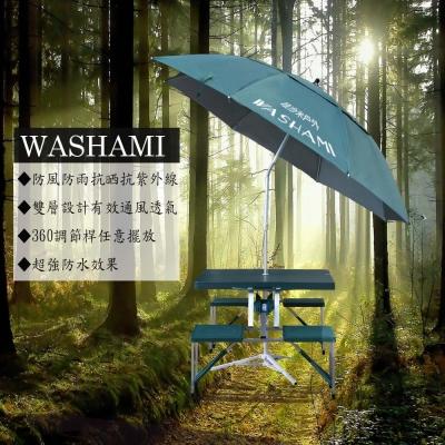 WASHAMl-萬向衛星傘單層透氣(傘面2.0M)