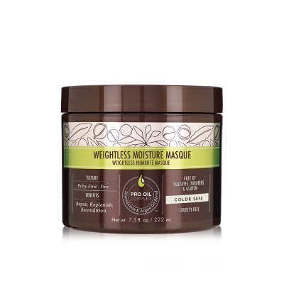 Macadamia Professional瑪卡奇蹟油輕柔髮膜222ml