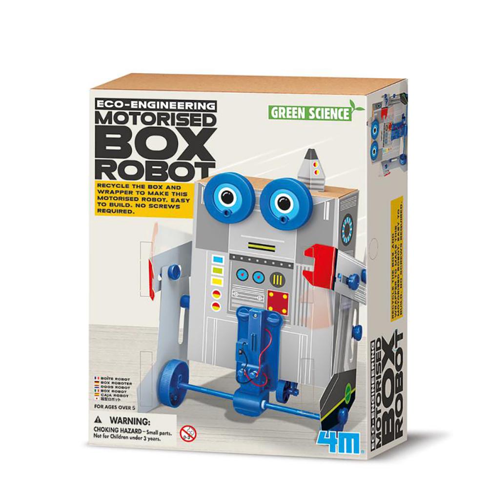 4M科學探索 - 出動!變形盒子機器人