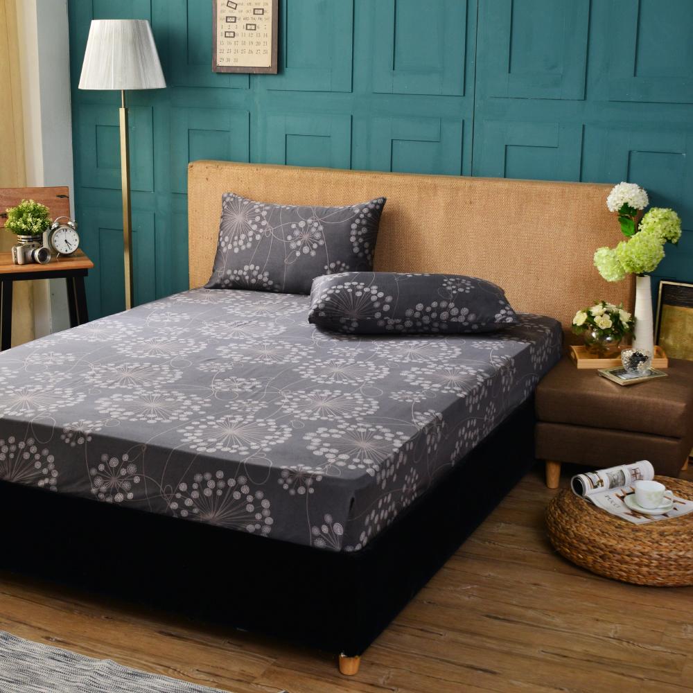 Rose 帕洛瑪 雙人100%純天絲枕套床包三件組