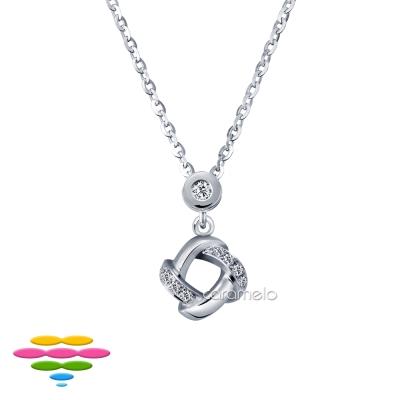 彩糖鑽工坊 鑽石項鍊 結系列