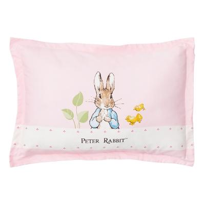 奇哥 花園比得兔充綿兒童枕-粉紅