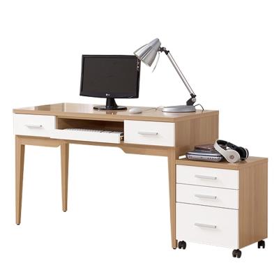 ROSA羅莎 布蘭頓4尺電腦桌組(4尺電腦主桌+活動櫃)