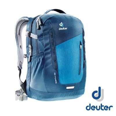 【德國 Deuter】StepOut 22 遊背包/城市型背包_深藍/藍