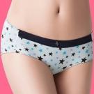 嬪婷 Peach Bra  M-LL 低腰平口褲(中性藍)