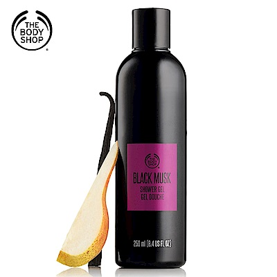 The Body Shop黑麝香沐浴膠250ML