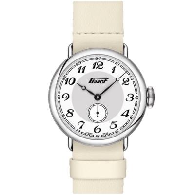TISSOT 天梭 Heritage 1936 懷錶式機械腕錶-35mm