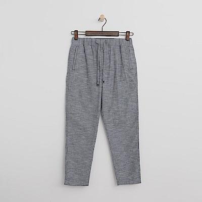 Hang Ten - 女裝 - 抽繩休閒長褲-藍灰色