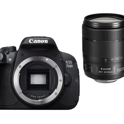 Canon 750D+18-135mm IS USM 單鏡組*(平輸中文)