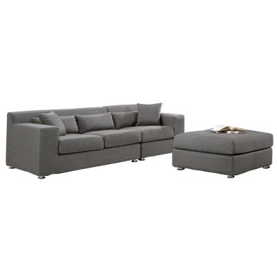 沙發 L型 黛比棉麻布面沙發 品家居