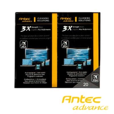 Antec a.m.p 3X 天然噴霧清潔濕紙巾攜帶包(20入)