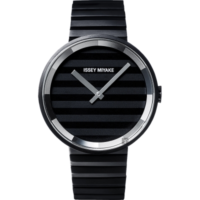 ISSEY MIYAKE 三宅一生 PLEASE 時裝系列手錶(SILAAA06Y)-40mm